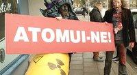 Protestas prieš Astravo AE (nuotr. TV3)