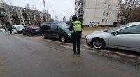 Avarija Vilniuje: girta vairuotoja trenkėsi į autobusą, sužeistas vaikas (nuotr. Broniaus Jablonsko)