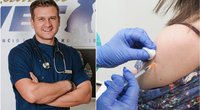 """""""TV pagalbos"""" veterinaras pasipiktino skiepų tvarką: neslepia nusivylimo (tv3.lt fotomontažas)"""