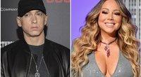 Eminemas ir Mariah Carey (tv3.lt fotomontažas)