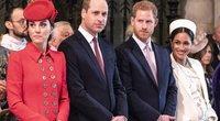 Kate Middleton, princas Williamas, princas Harry, Meghan Markle (nuotr. SCANPIX)