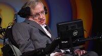 Stephenas Hawkingas (nuotr. SCANPIX)