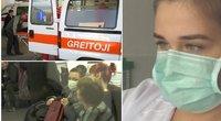 Gripas smogia visa jėga: to nesitikėjo net medikai (tv3.lt fotomontažas)