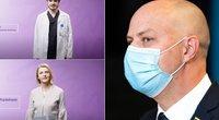 """Vakcinacijos kampanija """"Petys už laisvę"""" (tv3.lt fotomontažas)"""