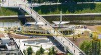 Baltasis tiltas (nuotr. Fotodiena/Justino Auškelio)