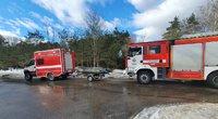 Vilniuje gelbėtojai ieško po ledu panirusio žmogaus (nuotr. tv3.lt)