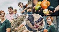 Vilniečių šeima augina išskirtines daržoves: spalvotus kukurūzus, tomatilus, aitriuosius pipirus (tv3.lt fotomontažas)
