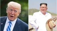 Amžiaus derybos: ko tikėtis iš D. Trumpo ir Kim Jong Uno susidūrimo? (nuotr. SCANPIX)