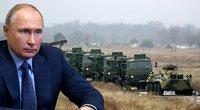 Gąsdinimas ar pasirengimas agresijai? Neatmetama, kad Putinas ruošiasi puolimui (nuotr. SCANPIX) tv3.lt fotomontažas