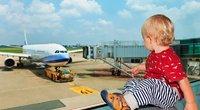 Vaikas oro uoste (asociatyvi nuotr.) (nuotr. 123rf.com)