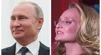 Rusijos televizija parodė V. Putino dukrą ir sukėlė sąmyšį (nuotr. SCANPIX)