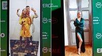 """""""Kino pavasario"""" apdovanojimų akimirkos (R. Daskevičiaus, A. Solomino, T. Stuko ir G. Gražio nuotr.) (tv3.lt fotomontažas)"""