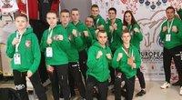 Lietuvos sportininkų delegacija. (nuotr. Organizatorių)