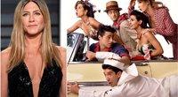 """Jennifer Aniston ir """"Draugų"""" žvaigždės (tv3.lt fotomontažas)"""