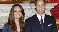 Kate Middleton ir princas Williamas (nuotr. SCANPIX)
