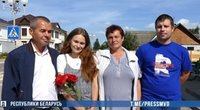 Dingusią 4-metę tėvai aptiko kaimyninėje Rusijoje po 20 metų (nuotr. Baltarusijos VRM) (nuotr. YouTube)