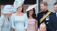 Kate Middleton, Meghan Markle ir princas Harry (nuotr. Vida Press)
