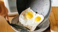 Kiaušinių kepimas (nuotr. Shutterstock.com)