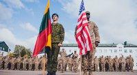 JAV ir Lietuvos kariuomenė (nuotr. KAM / Pauliaus Čilinsko)