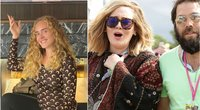 Adele su vyru Simon Konecki (tv3.lt fotomontažas)