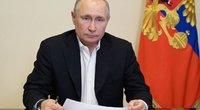 """Putinas skelbs apie """"naujų laikų atėjimą"""" (nuotr. SCANPIX)"""