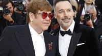 Elton John ir David Furnish (nuotr. SCANPIX)