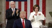 D. Trumpo kalba (nuotr. stop kadras)