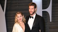 Miley Cyrus ir Liamas Hemsworthas (nuotr. SCANPIX)