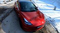 """Išbandė """"Tesla"""" kelyje: pasakė, kuo maloniai nustebino"""