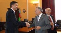 Energetikos ministras susitikime su Natig Aliyev (nuotr. Energetikos ministerijos)