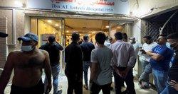 Irake per gaisrą COVID-19 ligoninėje žuvo mažiausiai 23 žmonės
