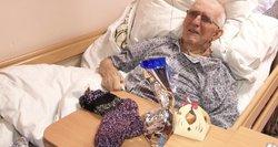 Panevėžyje slaugos ligoninės pacientai sulaukė kalėdinio stebuklo
