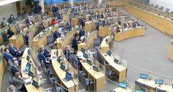 Pernai Seimo nariai išleido 1,4 mln. eurų parlamentinei veikai, ketvirtadalis naujokų panaudojo maksimalias sumas
