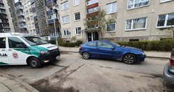 Vilniuje – gaudynės kaip iš veiksmo filmo: bėglį su Mercedes gaudė septyni policijos ekipažai