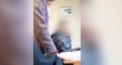 Prabilo mokiniui trenkusi ir nufilmuota mokytoja: man tai pirmas kartas