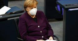 """Merkel: """"Nord Stream 2"""" dujos – ne ką blogesnė už kitaip iš Rusijos gaunamas"""