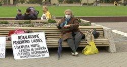 Dar vienas mitingas Vilniuje – protestuoja prieš daugybę Lietuvos skaudulių