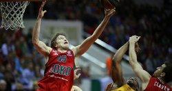 """Eurolygoje bronzos medaliais pasikabino """"Lokomotiv"""" krepšininkai"""