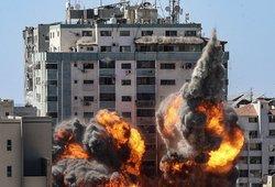 Izraelio ir Palestinos konfliktas toliau kaista: nuo raketų smūgių žūsta dešimtys vaikų