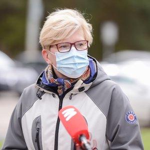 Šimonytė: vakcinacija jau daro įtaką pandemijai