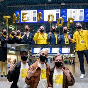 """""""The Roop"""" išlydėti į Roterdamą: grupė nusiteikusi laimėti"""