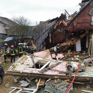 Sprogimas Radviliškyje: ligoninėje mirė nudegimus patyręs žmogus