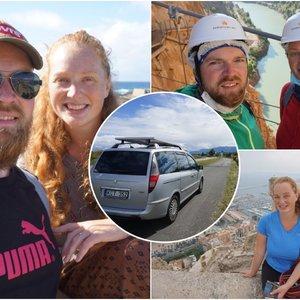 Ukmergiškiai apsigyveno automobilyje: darbą iškeitė į metų trukmės keliones