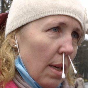 Protestą Kaune dėl mokinių testavimo surengusiai organizatorei – bauda