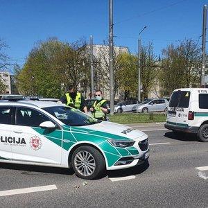 Vilniuje pėsčiųjų perėjoje mirtinai partrenkta moteris