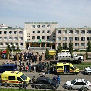 Tikslina šaudynių Rusijos mokykloje aukų skaičių: žuvo 9 žmonės, dar 16 – ligoninėje