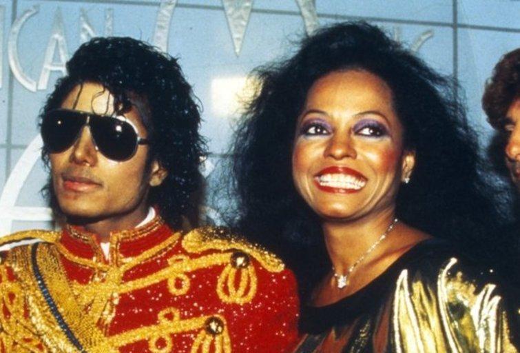 Michael Jackson ir Diana Ross (nuotr. SCANPIX)