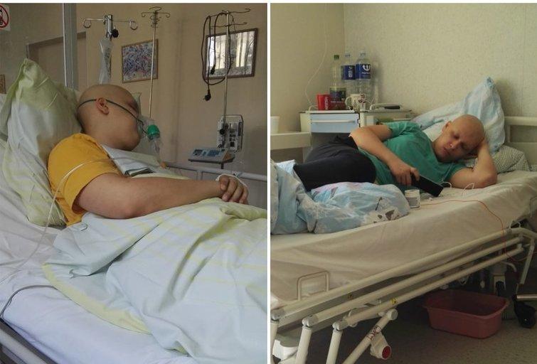 Jonas serga paskutinės stadijos vėžiu: 18-mečiui liko paskutinė viltis