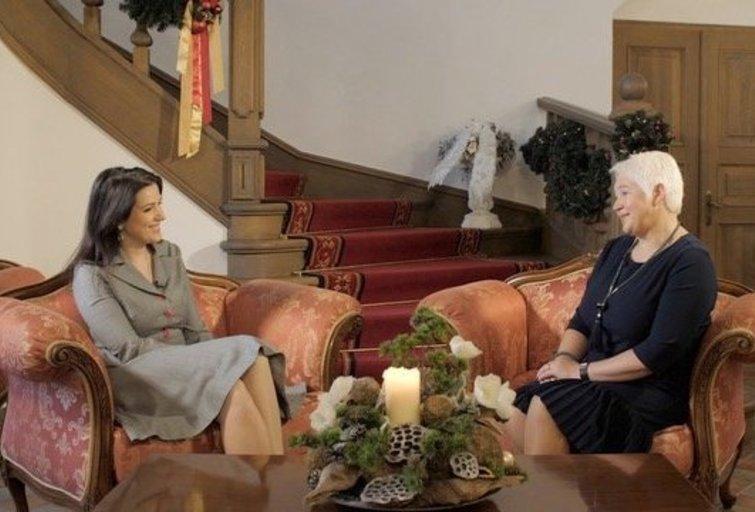 """Raudondvario dvaro direktorė: """"Nėra lengva moterims pilis statyti"""" (nuotr. Organizatorių)"""