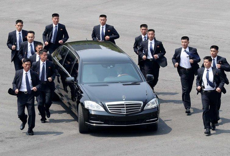 Kim Jong Unas atvyko į Singapūrą (nuotr. SCANPIX)